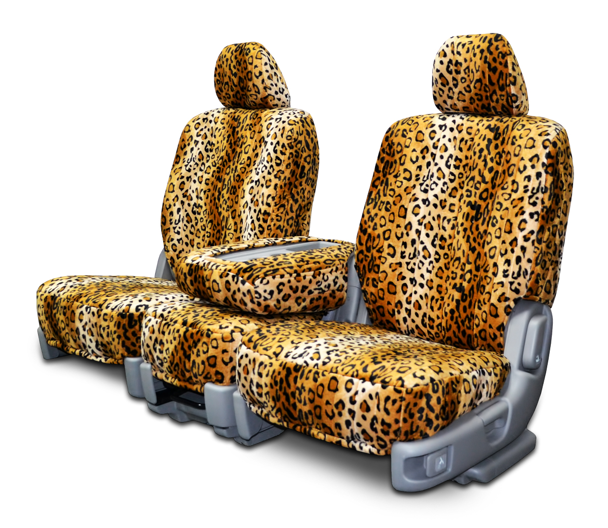 Leopard Velour Seat Covers