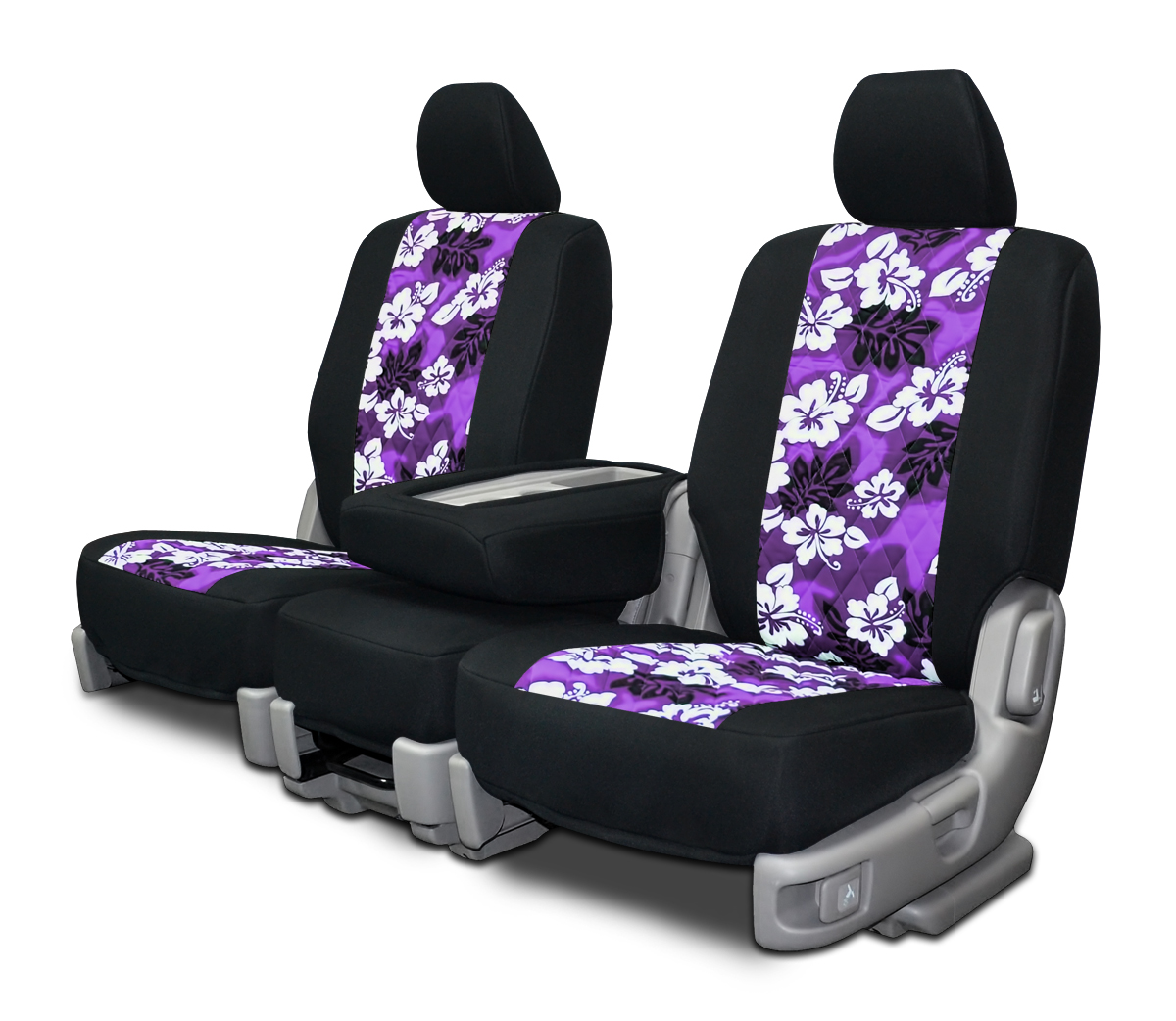 Custom Car Seat Covers Hawaiian Print