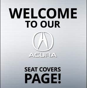 Acura RDX Seat Covers - Acura rdx seat covers