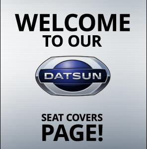 Datsun 510 Sedan-Wagon Seat Covers