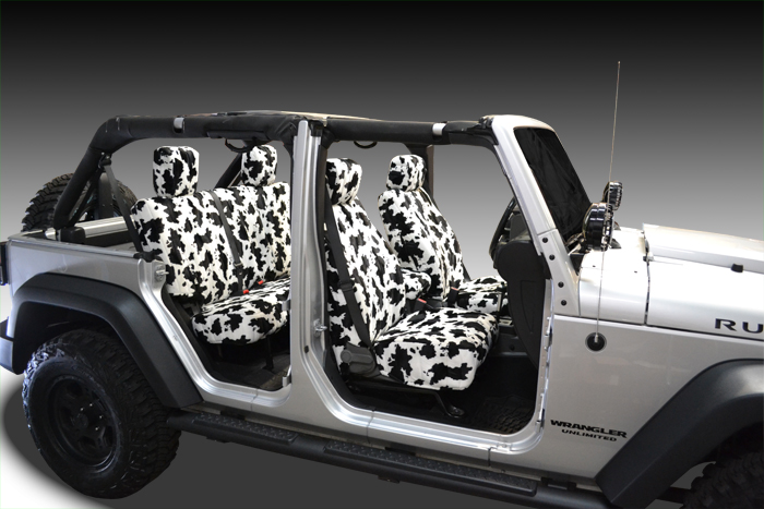 Cow Velour Seat Covers Seat Covers Unlimited