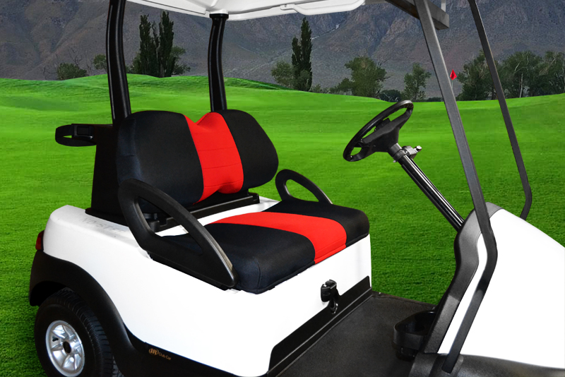 Neoprene Seat Covers | Seat Covers Unlimited on yamaha golf cart seat cover, yamaha drive golf cart, yamaha ez go golf cart enclosure,
