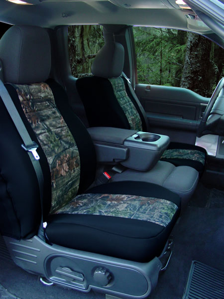 Neo Camouflage Seat Cover