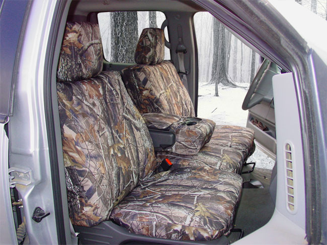 Camouflage Deluxe Seat Cover