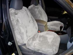 Acura Mdx Silver Sheepskin Seat Seat Covers