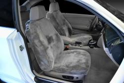 BMW 135i Pewter Sheepskin Seat Seat Covers