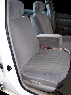 Buick Century Silver Dorchester Seat Seat Covers