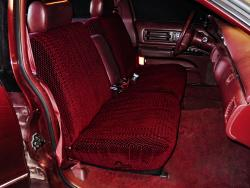 Chevy Caprice Brick Scottsdale Seat Seat Covers