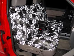 Chevy Colorado Charcoal Hawaiian Seat Seat Covers