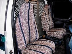 Chevy Express Van Navy Saddle Blanket Seat Seat Covers