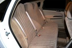 Chevy Impala Taupe No Flecks Scottsdale Rear Seat Seat Covers