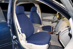 Chevy Malibu Navy Tweed Seat Seat Covers