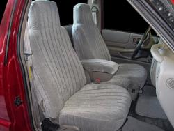 Chevy S10 Pickup Charcoal Regal Seat Seat Covers