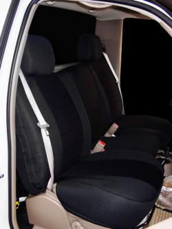 Chevy Silverado Black Neoprene Seat Seat Covers