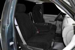 Chevy Silverado Black Scottsdale Seat Seat Covers