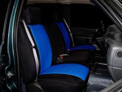 Chevy Silverado Blue Neoprene Seat Seat Covers