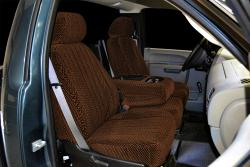 Chevy Silverado Brown Scottsdale Seat Seat Covers