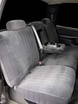 Chevy Silverado Charcoal Dorchester Rear Seat Seat Covers
