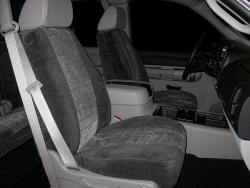 Chevy Silverado Two Tone Velour Seat Seat Covers