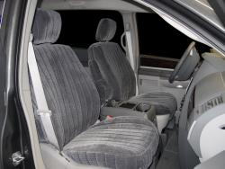 Chrysler Town And Country Charcoal Madrid Seat Seat Covers