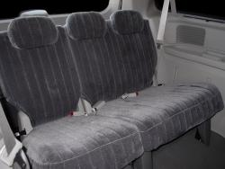 Chrysler Town And Country Rear Charcoal Madrid Seat Seat Covers