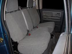 Dodge Dakota Silver Dorchester Rear Seat Seat Covers