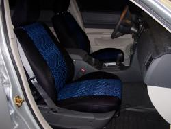 Dodge Magnum Blue Neo Diamond Seat Seat Covers