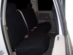 Dodge Ram Black Scottsdale Rear Seat Seat Covers