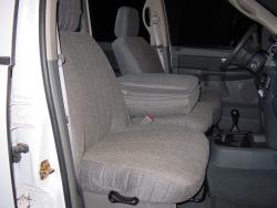 Dodge Ram Grey Tweed Seat Seat Covers