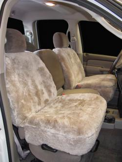Dodge Ram Mushroom Sheepskin Seat Seat Covers