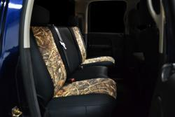 Dodge Ram Neo Camo Advantage Rear Seat Seat Covers