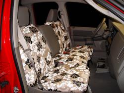 Dodge Ram Tan Hawaiian Seat Seat Covers