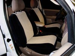 Ford Escape Two Tone Velour Black W Tan Vel Quilt Seat Seat Covers