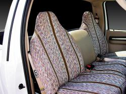 Ford F-150 Brown Saddle Blanket Seat Seat Covers