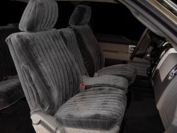 Ford F-150 Charcoal Vel Quilt Seat Seat Covers