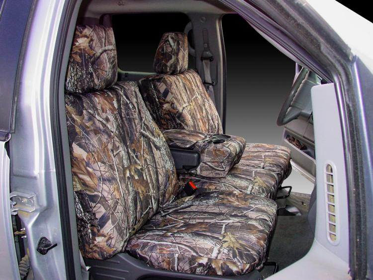 Ford F Realtree Hardwoods Camo Seat Covers B