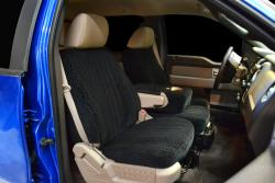 Ford F-150 Scottsdale Black No Flecks Seat Seat Covers