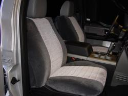 Ford F-150 Two Tone Velour Seat Seat Covers