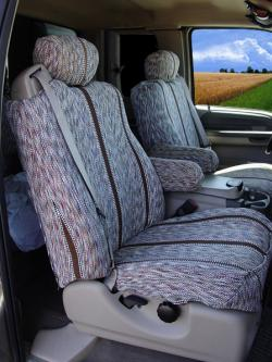 Ford F-250 Brown Sadddle Blanket Seat Seat Covers