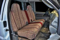 Ford F-250 Burgundy Saddle Blanket Seat Seat Covers