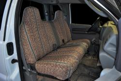 Ford F-250 Grey Saddle Blanket Seat Seat Covers