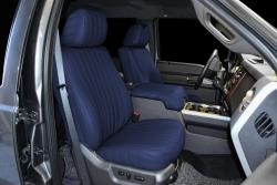 Ford F-250 Navy Vinyl Seat Seat Covers