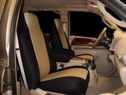 Ford F-250 Tan Neoprene Seat Seat Covers
