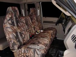 Ford F-450 Realtree Hardwoods Camo Seat Seat Covers