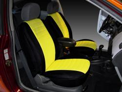 Ford Focus Yellow Neoprene Seat Seat Covers
