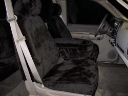 Gmc Sierra Black Imitation Seat Seat Covers