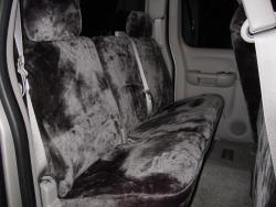 Gmc Sierra Charcoal Imitation Rear Seat Seat Covers