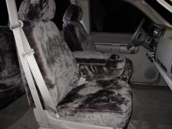 Gmc Sierra Charcoal Imitation Seat Seat Covers
