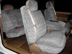 Gmc Sierra Silver Diamond Seat Seat Covers