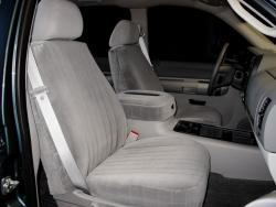 Gmc Sierra Silver Dorchester Seat Seat Covers